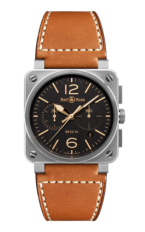 Buy Bell and Ross BR 03-94 Golden Heritage Watches | LV