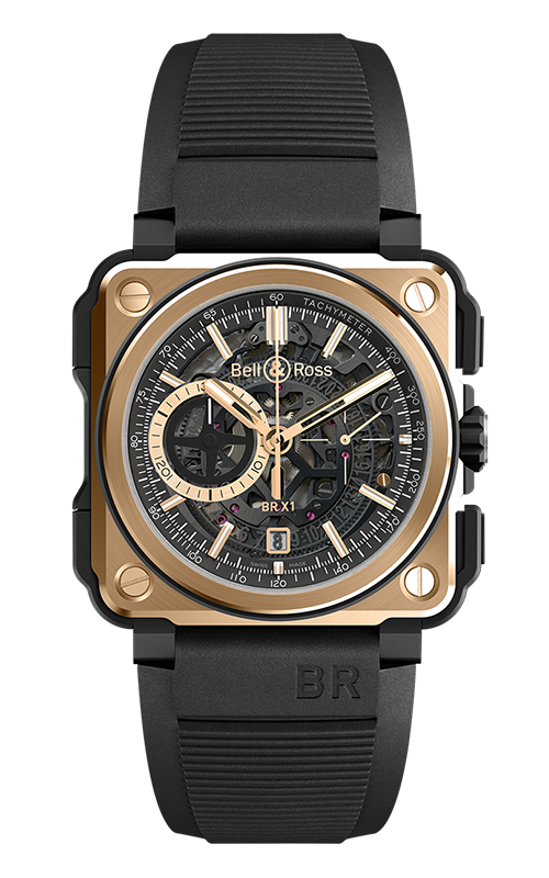 BR-X1 Chronographe BR-X1 ROSE GOLD AND CERAMIC product image