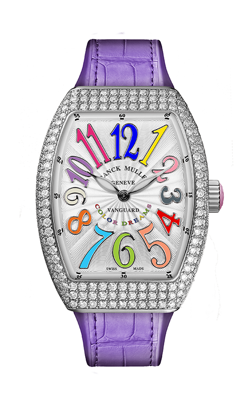 Franck Muller Lady Vanguard Watch V 32 QZ D COL DRM AC product image