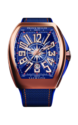 Franck Muller Vanguard Watch V 45 SC YACHT 5N BL product image