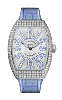 Franck Muller Lady Vanguard Watch V 32 QZ D AC BL product image
