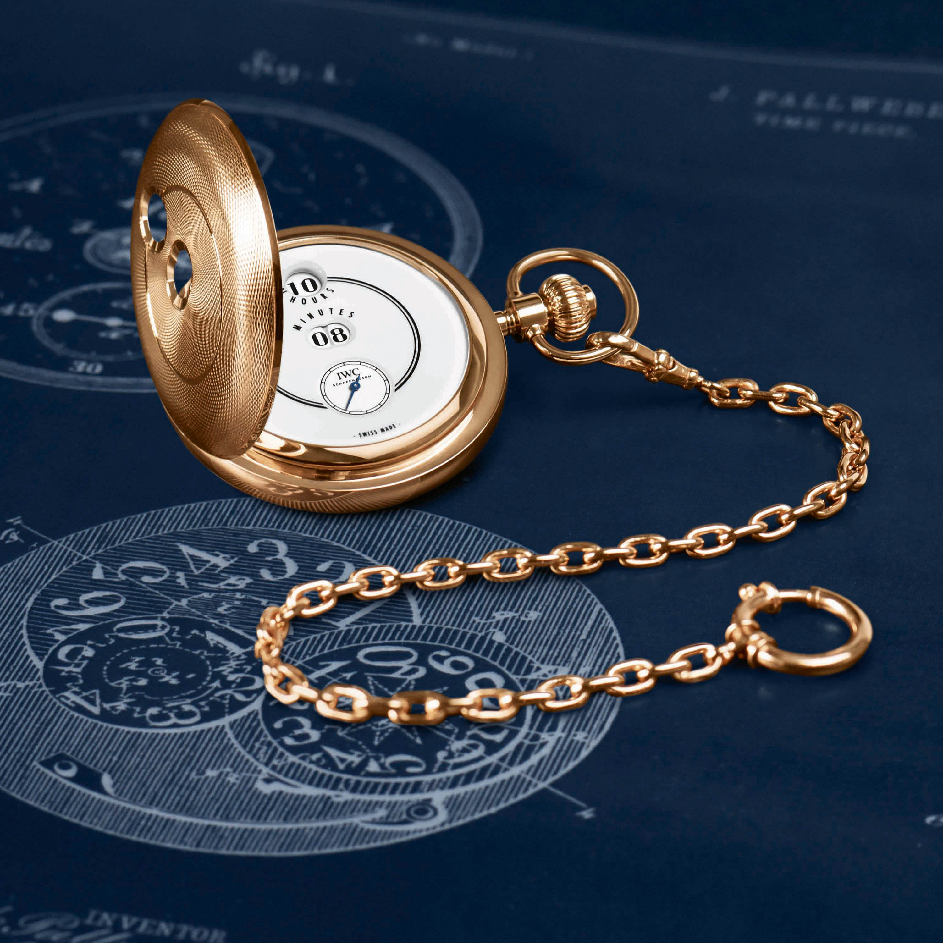 IWC Schaffhausen - Pallweber pocket watches Image