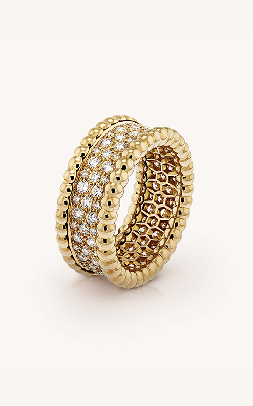 Van Cleef & Arpels Perlée™ Diamonds Ring product image