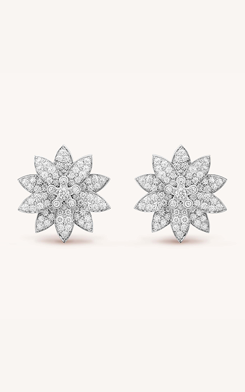 Van Cleef & Arpels Lotus Earrings product image